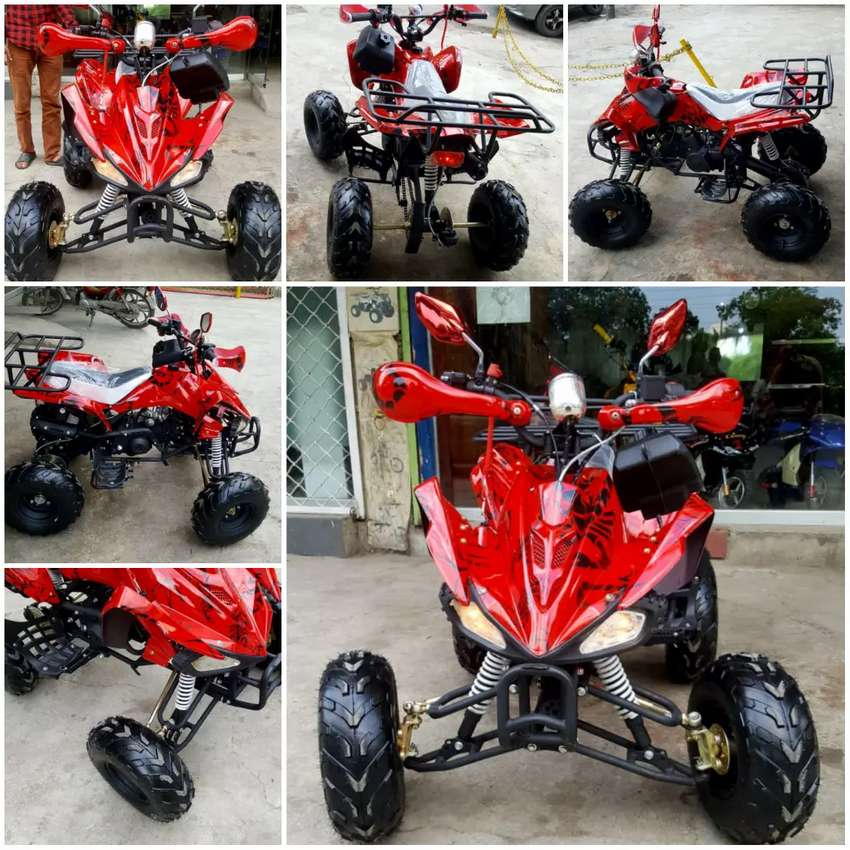 Heavy look quad atv 4 wheels delivery all Pakistan 0