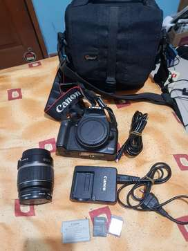 DSLR EOS CANON 500D full set camera kamera