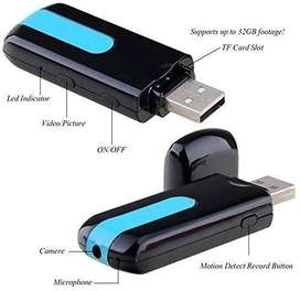 32GB Full HD Pendrive USB Spy Camera For Audio Video Recording Availab