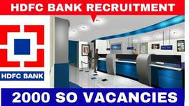 HDFC process hiring for Back Office Executives in Delhi