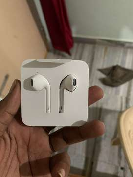 Apple earphones brand new lightning