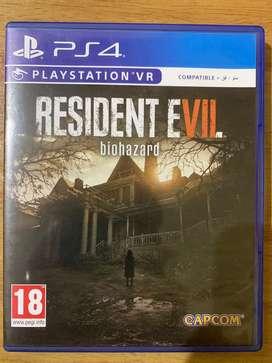 Kaset ps4 resident evil 7