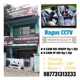Paket CCTV Gratis Pasang