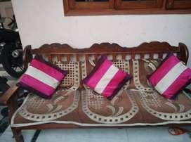 Sofa Set (3+1+1) Wooden