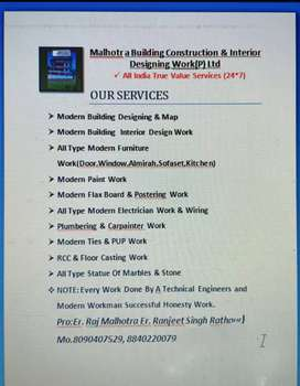 MALHOTRA Building construction and