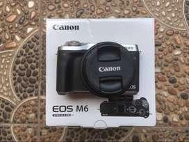 Canon M6 Fullset Datascrip