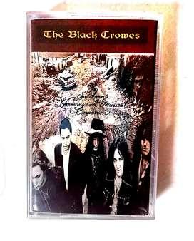 kaset pita  segel new old stock album the black crowes