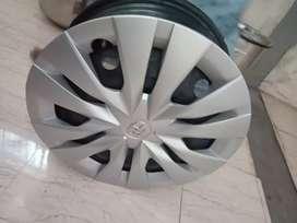 Steel wheel 15 Inch with wheel caps