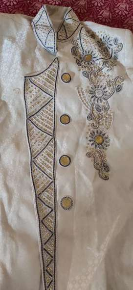 A brand new sherwani use only one time