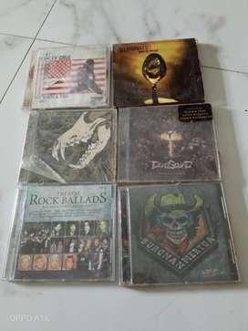 Jual cd lagu lagu rock dan metal