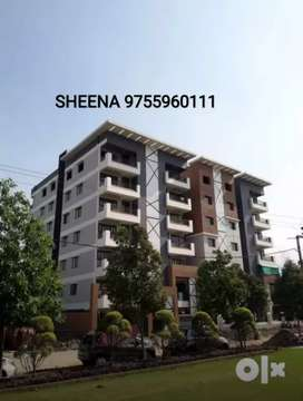 Book OnlY 11,000/-*GARDEN FACING & MAIN ROAD SIDE FLAT READY POSSESION