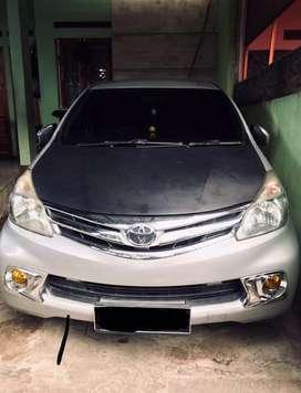 Toyota Avanza Type G manual 2014