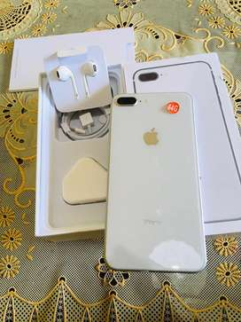 Iphone 8 Plus 64gb White mulus 99%