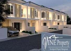 Townhouse design mewah di lokasi terdepan dan premium
