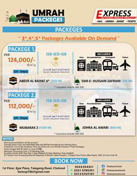 Umrah Packeges,
