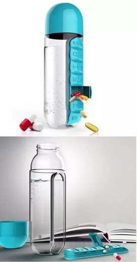 medicine water bottle