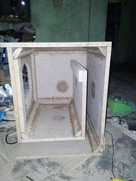 Box speaker&power ampli