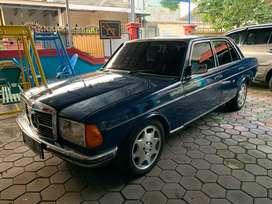mercedes 280e 1983 deep blue 2.800 cc nett