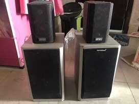 1500 W Universal speakers