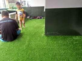 Karpet Rumput Sintetis Indoor Harga Per Meter 1x1,