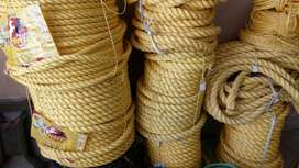 Nylon Ropes available in all sizes for Industrial & Agricultural use
