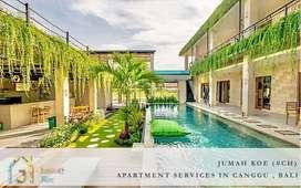 Bali Apartment Monthly Rental In Canggu Only 8 Juta (#CH)
