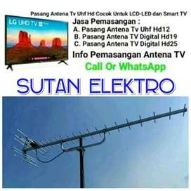 Pemasangan Antena Tv HD25 Wilayah Serpong
