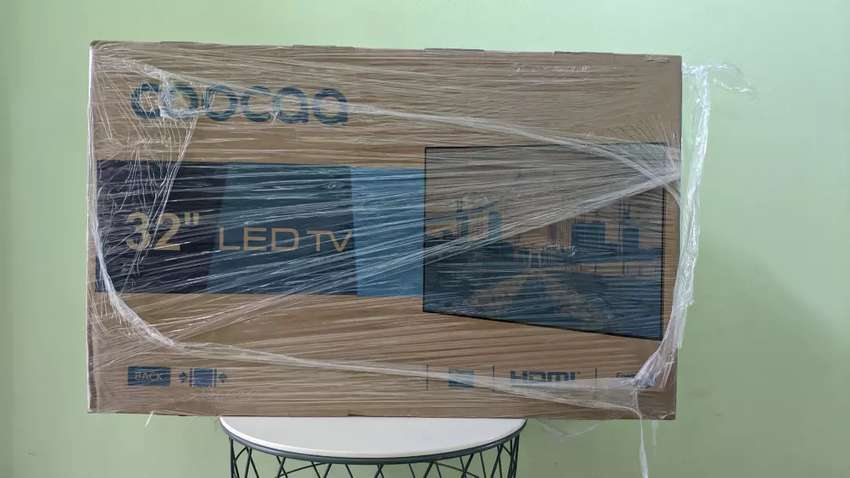 Coocaa 32A4 LED TV - Hitam HDMI USB 0