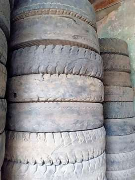 Old Tyres all