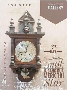 Jam Dinding Antik Lubang Dua Tri Star 31 Day