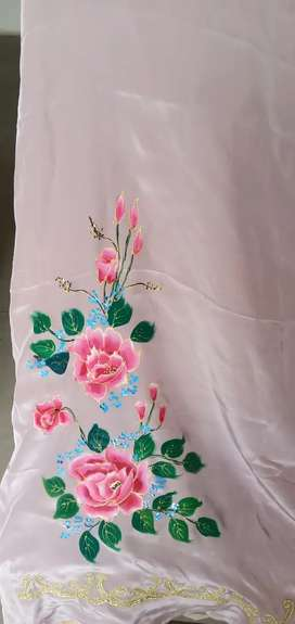 Silk Painting Suit