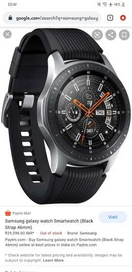 SAMSUNG SMART WATCH with calling function