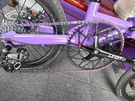 Sepeda lipat custom 16