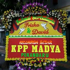 Bunga papan wedding klaten
