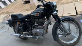 bullet standard 350cc with alloy  only run genuine 7000