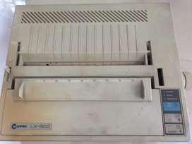 LX EPSON 800 PRINTER