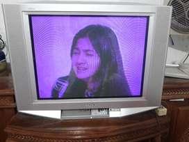 Dijual TV Tabung Layar Datar Merek SONY 29 Inchi
