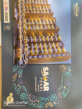 2Bhk Luxurious Flat Near to Ashima Mall. Covered Campus.