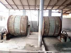 Leather tannery Drum sale and Pedaling machines sale