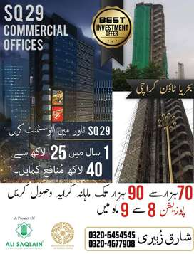 Earn 25lac to 40lac within a year and also RENTAL 70000 to 90000 /mont