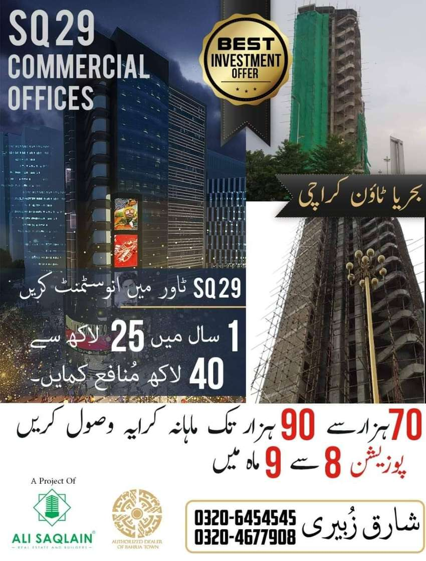 Earn 25lac to 40lac within a year and also RENTAL 70000 to 90000 /mont 0