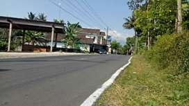 Tanah strategis 350 meter disewakan di Salatiga SHM