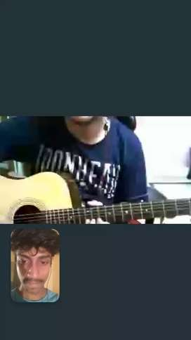 Online Guitar ( Electric/ Acoustic ) Classes!