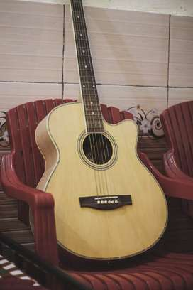 Genuine Wooden Guitar In matte finish up for sale