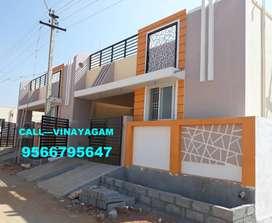 BEST PRICE Villa for sale at VADAVALLI (45 Lakhs)--Vinayagam