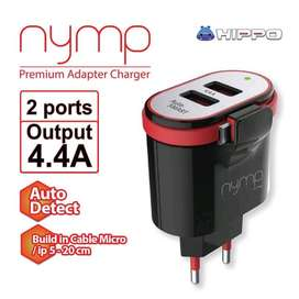 Charger Hippo Nymp by sam central Powerbank