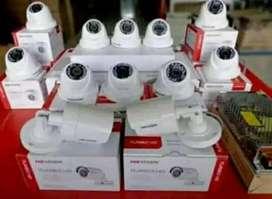 Kamera CCTV paket campuran 8 ch