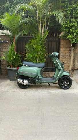 Vespa S Iget KM Low Green Matte