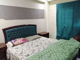 2bed rooms Ground floor falt short long time for rent bahria town rep