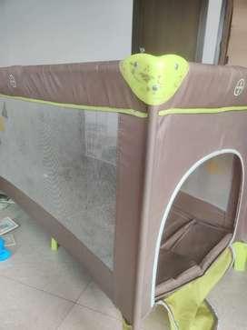 LuvLap Baby Playpen Playard,Fold Baby Bed Cum Cot / Convertible Crib